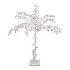 "Crystal Palm Tree, 48""x31""x31"""