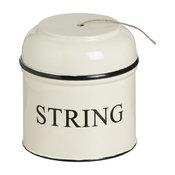 "Jute ""String"" Round Tin"