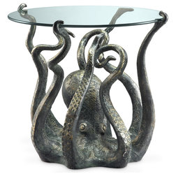 Beach Style Side Tables And End Tables by Zeckos