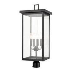 Millennium Lighting Barkeley Outdoor Post Lantern 2604-PBK