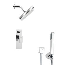 Nameeks Sfh6195 Remer Double Handle Shower System Faucet