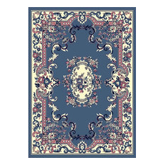 Home Dynamix Traditional Country Blue Rug