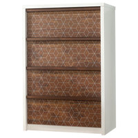 Harvey Park 4-Drawer Chest, Soft White