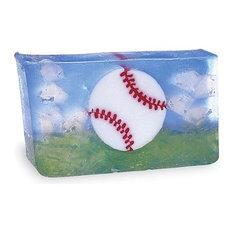 Baseball Shrinkwrap Soap Bar