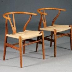 Hans J. Wegner - Hans Wegner Wishbone-Chair - Esszimmerstühle
