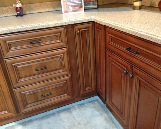 Chestnut Pillow Kitchen Cabinets   Kitchen Cabinet Kings   Kitchen Cabinetry