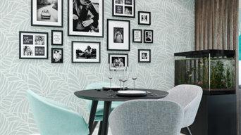 Шоколадный тиффани. Дизайн интерьера квартиры для молодой семьи в г. Энгельс