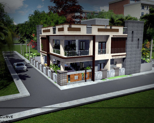 Genial Bungalow/villa/individual House/row House Design