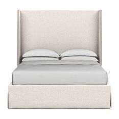 Kaiser Velvet Box Bed, Alabaster, Cal King