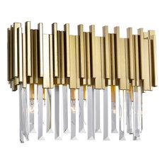Deco 3 Light Vanity Light - Medallion Gold