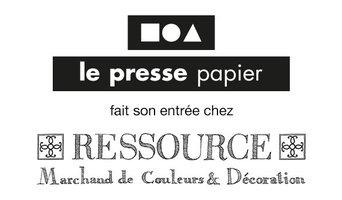 Le presse papier est chez RESSOURCES PEINTURES