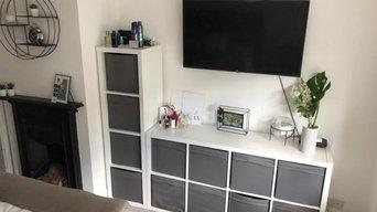 Bedroom reorganise
