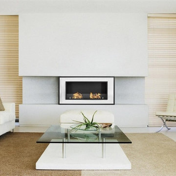 Ignis Recessed Ethanol Fireplace Bellezza