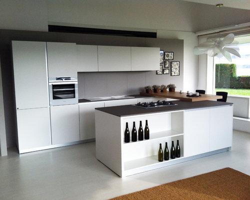 Arredamento cucina con isola design casa creativa e - Cucina con sala da pranzo ...