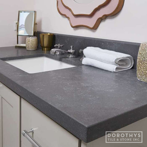 Metropolis Dark Quartz - Kitchen Countertops
