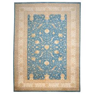 Ziegler Farahan Oriental Rug, Pakistan Hand-Knotted Classic, 401x305 cm