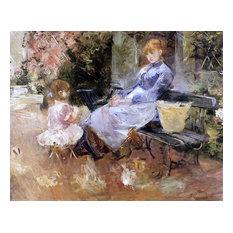 "Berthe Morisot A Fable - 20"" x 25"" Premium Canvas Print"