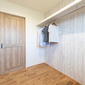 香川県に建つ、「のどやかに包む家」のWIC