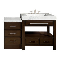56 in. Single Sink Bathroom Vanity