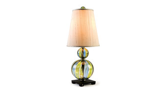 Striped Susan Table Lamp