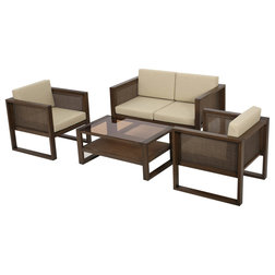 Unique Contemporary Outdoor Lounge Sets by GDFStudio