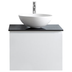 Simple Contemporary Bathroom Vanities And Sink Consoles by Vinnova