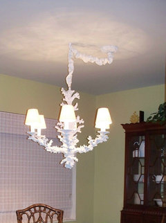 Is It Quot Tacky Quot To Swag A Chandelier For The Dining Room Table