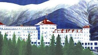 """""""Winter Majesty"""", Mount Washington Hotel"""