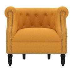 Casey Chair, Mustard Yellow