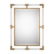 Balkan Wall Mirror, Gold