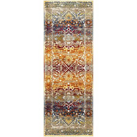 "Surya Serapi SRP-1011 Area Rug, Red/Brown, 3' 11"" x 5' 7"" Rectangle"