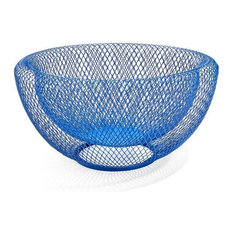 MESH Bowl Blue by MoMA, Red