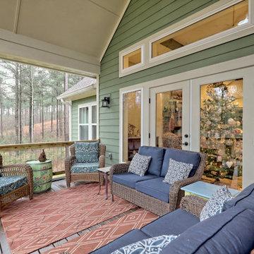 Artist Lane: Mountain Craftsman Home