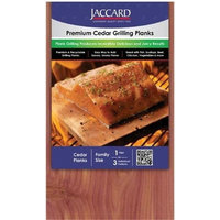Jaccard  Premium Cedar Grilling Planks, Large, 2-Pack