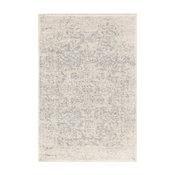 Harput Traditional Black and Light Gray Area Rug, 12'x15'