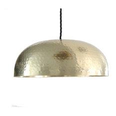 Most Popular Brass Dome Pendant Lights For Houzz - Kitchen pendant lighting brass