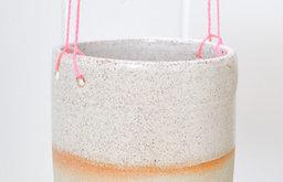 Hanging Planter, Pink