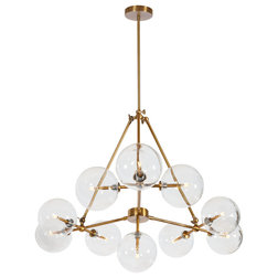 Midcentury Chandeliers by Gild