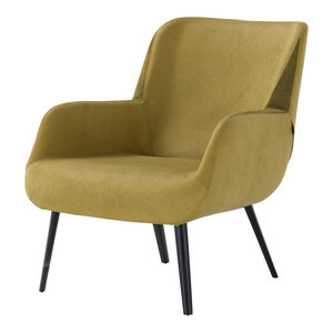 Panis Mustard Accent Chair