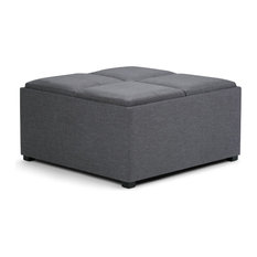 Large Coffee Table Ottoman Footstools Ottomans Houzz