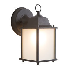Yosemite One Exterior Sconce With Black Frame Finish 5008IBL