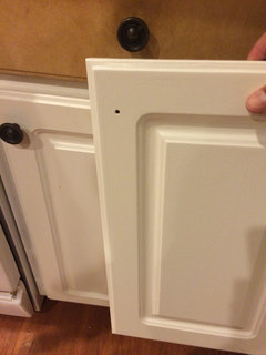 Help - yucky peeling/melting thermofoil cabinets!