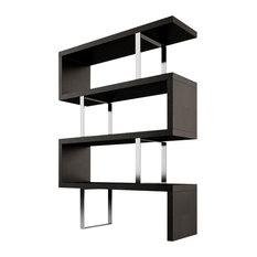 Modloft - Pearl Bookcase, Wenge - Bookcases