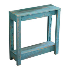 Small Entry Console, Turquoise