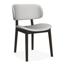 Claire Dining Chair, Denver Sand Seat, Smoke Frame