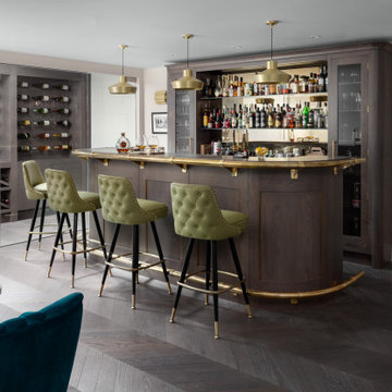 Grey Oak Bar
