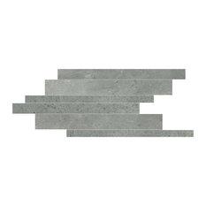 Maps Porcelain Mosaic Tile, Matte Graphite 210x400, 20 Boxes
