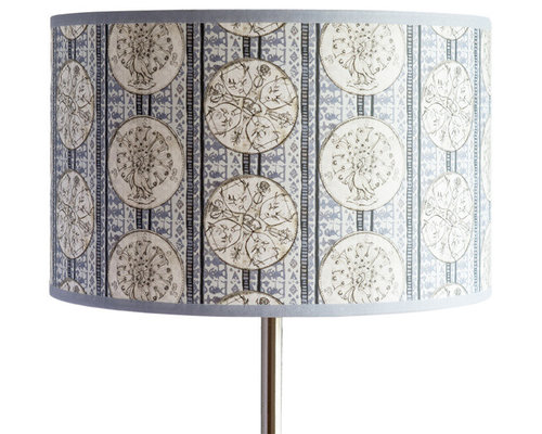 Coins Shallow Drum Light Shade - Lampshades