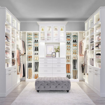 Boutique Style Walk-In Closet