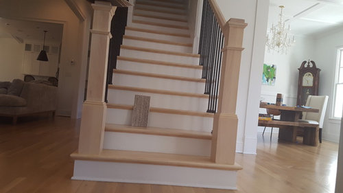 To Surge Or Not To Surge At The Bottom And Top Of Stairs For A More  Finished Look?